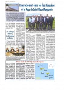 Article dans La Dépêche d'Auvergne