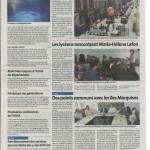 Article du journal La voix du Cantal